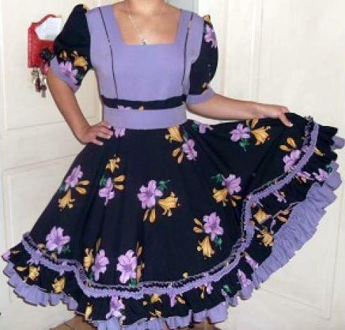 imagenes de vestidos de huasa
