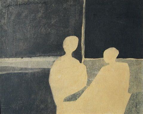 Two figures by Richard Ciccimarra