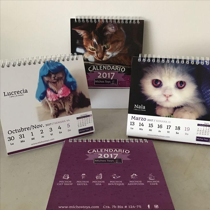 Hoy recogí el #calendario donde de mis #gatas hermosas hacen parte. Nala es señorita #marzo 2017 y Lucrecia es señorita #octubre #2017. Gracias @michostoys por escogerlas. #loveofmylife #love #amor #cats #cat #instacat #fashion #gata #gatas #animales #animal #gatita #gatica #kittens #kitty #kittycat #minino #lavidadenala #lavidadelucre #pet #mascota #calendar #calendar2017