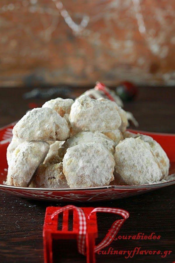 butter cookies kourabiedes