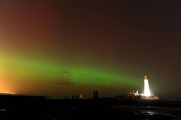 UK   The people of UK were treated to a highly unusual sight this week - the Aurora Borealis, an astronomical phenomenon, was spotted as far south as Essex.   Wonder if the pupils of St Martins School in Essex caught a glimpse?