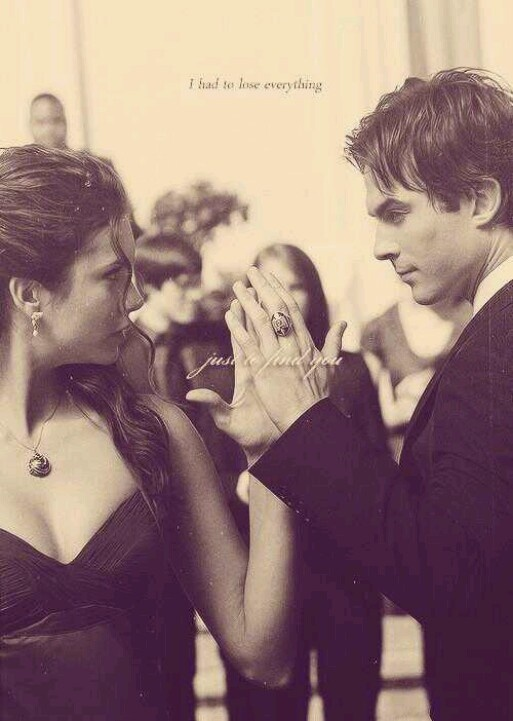 Damon & Elena dance ~ Vampire Diaries
