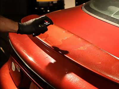 How to Repair Peeling Car Paint