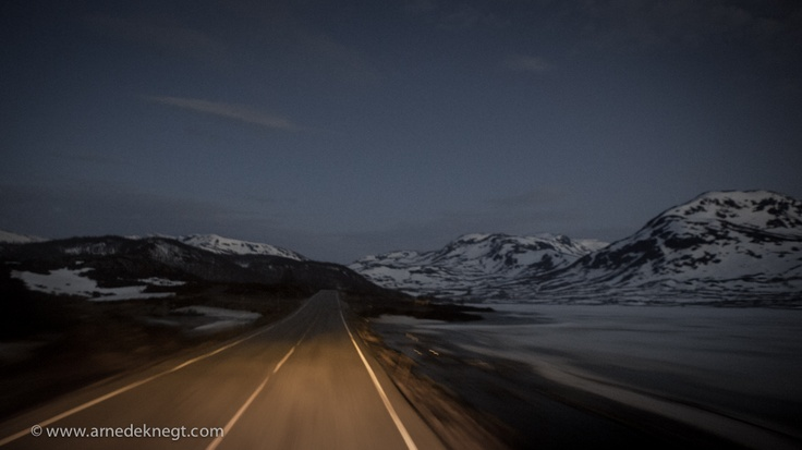 Transiting Norway by night; (c) Arne de Knegt Photography 2013