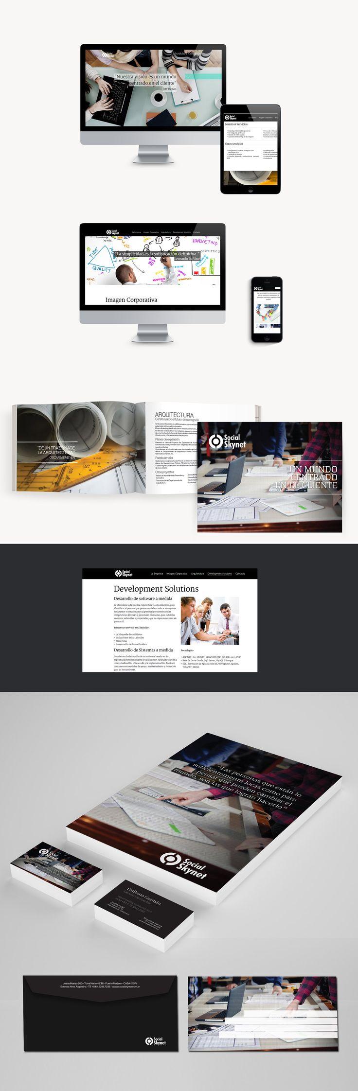 En DOMO le diseñamos, partiendo de su marca, toda la identidad visual de de empresa, carpetas, catálogos, papelería, folletos. También le desarrollamos y diseñamos su página web utilizando HTML5 parallax totalmente adaptativo.