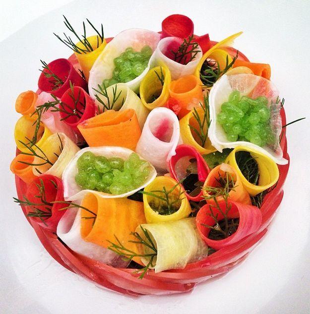 Salade de crudités by Jean Imbert