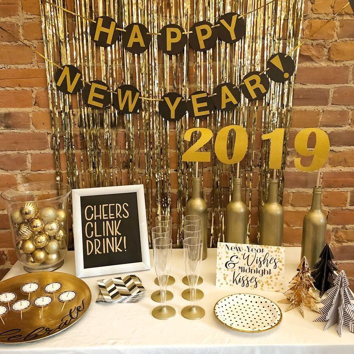51 Fantastic New Years Eve Party Table Decoration Ideas Furniture