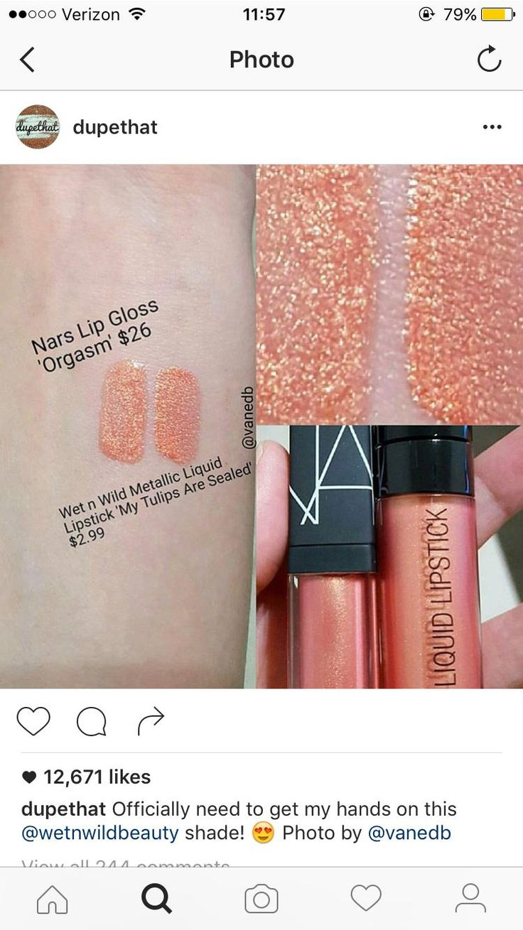Dupe That posted an interesting dupe: NARS versus Wet n Wild
