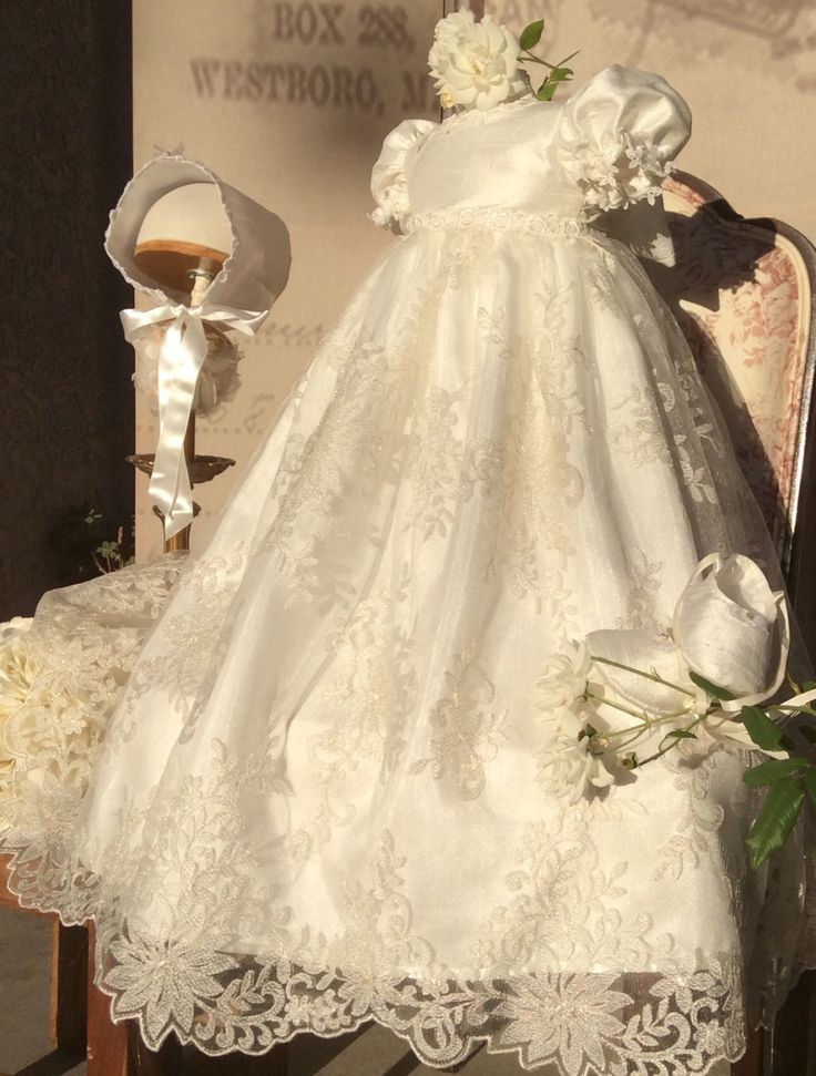 1000+ ideas about Christening Gowns on Pinterest | Baptism ...
