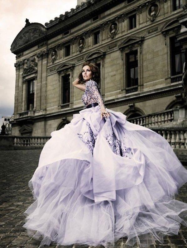 25  best ideas about Lavender wedding dress on Pinterest | 3 ...