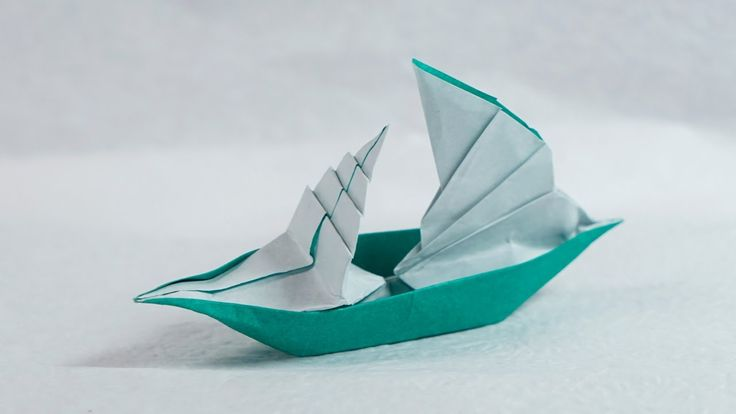 Origami Sailing Boat that Floats on Water (Henry Phạm)