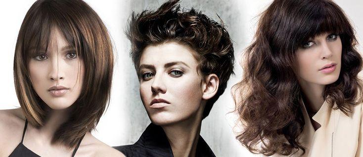 Galerie účesů – hnědé vlasy