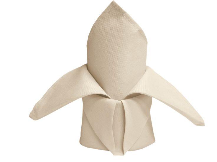 5/pk Napkins (Linen) - Ivory (for bunny ears)  $55.80 for 100 napkins