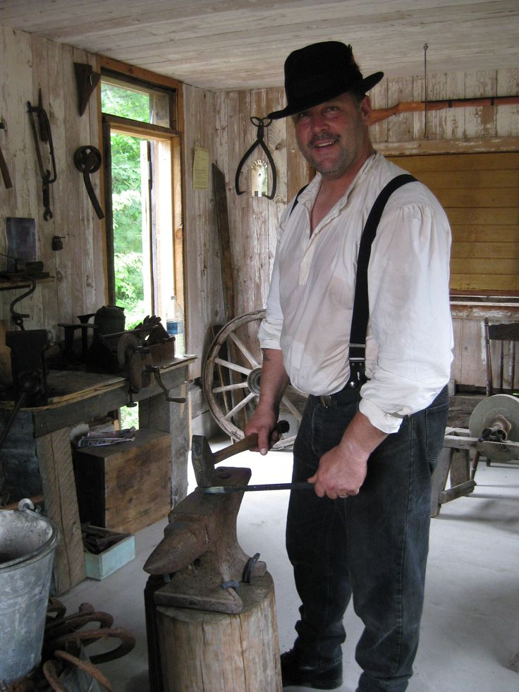 Bill our local blacksmith