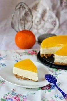 gallecookies: Tarta mousse de naranja y mascarpone