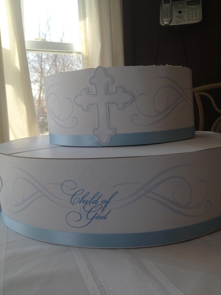 Baptism cupcake stand: Maxx S Baptism, Cupcake Stands, Dessert Decorating, Baptism Ideas, Baptism Cupcakes
