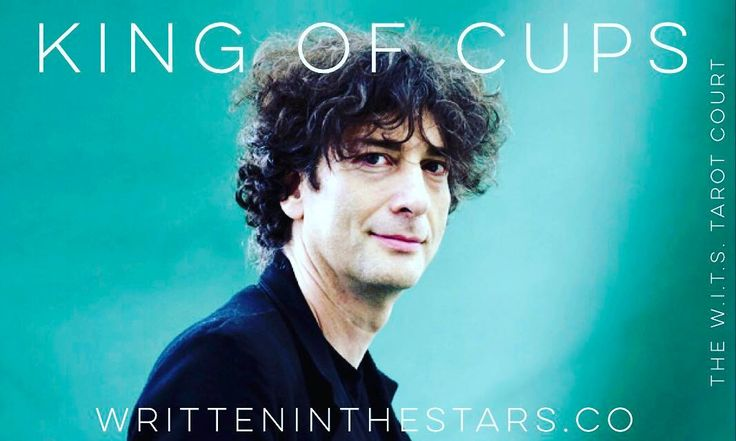 Are you interested in learning Tarot?  Here's a fun exercise to help you get a grip on those notoriously nebulous court cards! Cast them as real people you know or celebrities!  For me Neil Gaiman fits the archetype of the King of Cups through and through!  So full of depth and magic so conscious of his unconscious that he is able to not just traverse but to CREATE innumerable worlds! His ability to convey meaning through symbolism and to inspire others to find their own intuitive voice…