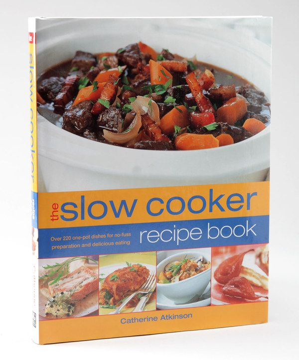 Take a look at this The Slow Cooker Recipe Book on zulily today!