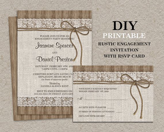 57 best Engagement Party Invitations images on Pinterest - engagement party invites templates