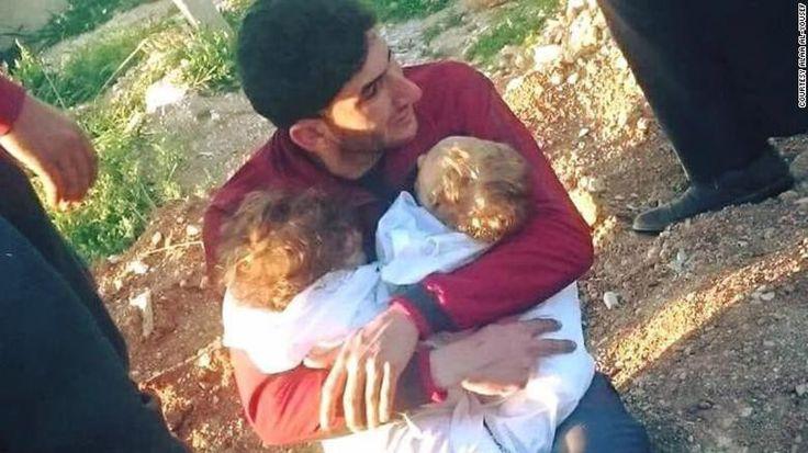 Serangan kimia yang melanda kota Khan Sheikhun, Provinsi Idlib, pada Selasa (4/4) waktu setempat telah menewaskan lebih dari 80 orang, dengan 26 orang di antaranya merupakan anak-anak. Dua bayi berusia 9 bulan ikut menjadi korban tewas.