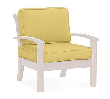 Chesapeake/Hampstead Armchair Replacement Cushion Set, Sunbrella(R)  Buttercup Part 90