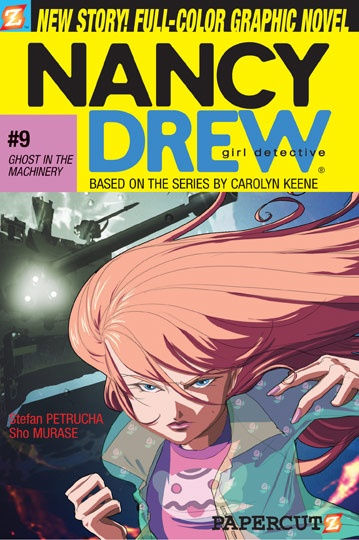 Nancy Drew Graphic Novel  #9 Ghost in the Machinery