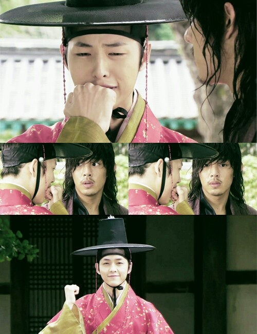 Sungkyunkwan scandal....this was a funny scene