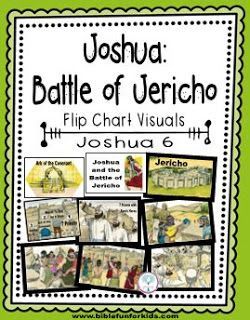 Joshua and the Battle of Jericho Flip Chart