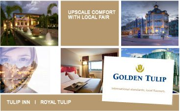 Golden Tulip Hotels all over the world