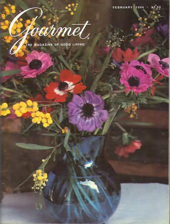 Gourmet February 1984//