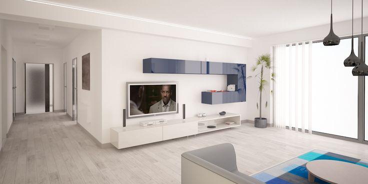 Interiérový architekt a dizajnér Opavský, realizácie interiérov Návrh interiéru rodinného domu, Liptovský Mikuláš
