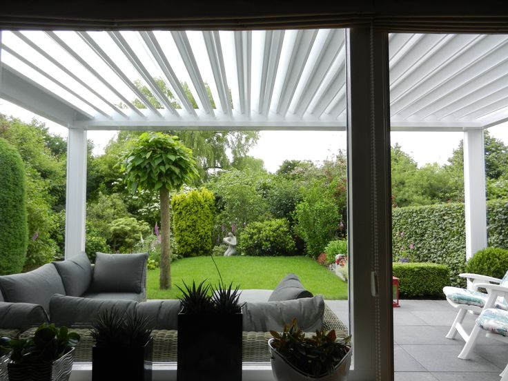 10 best p rgola renson camargue images on pinterest for Terrace pergola