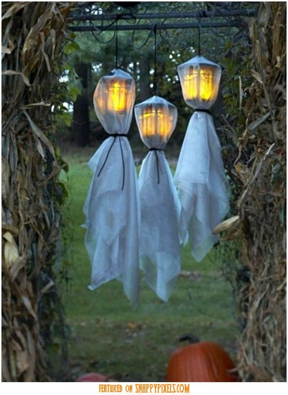 scary halloween decoration ideas for outside 34 yard pics snappy pixels - Homemade Halloween Decorations For Outside