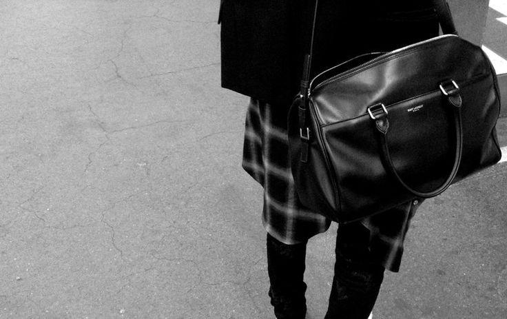 ysl mini cabas chyc bag - saint laurent duffle   Elements of Style \u2014 Men   Pinterest   Saint ...