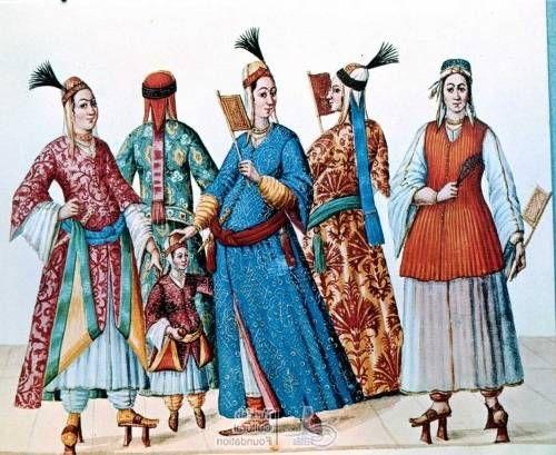 Women & Miscelaneous - I Turchi. Codex Vindobonensis 8626