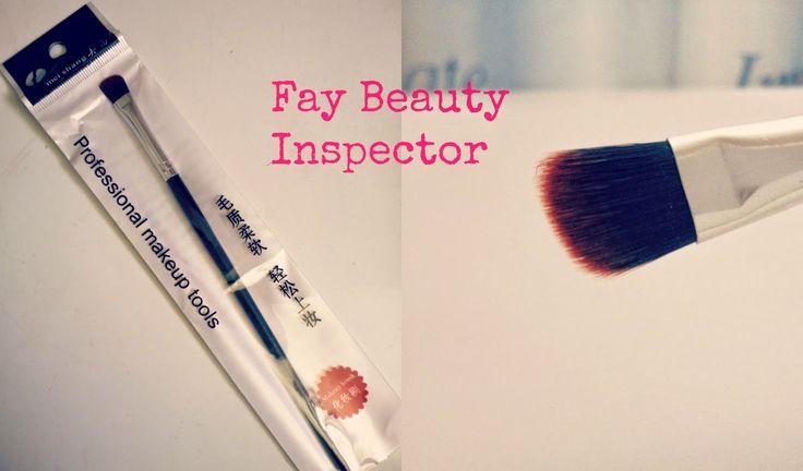 Fay Beauty Inspector : Born Pretty Stores eyeshadow brush & Code