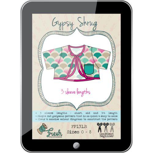 Gypsy Shrug PDF Pattern