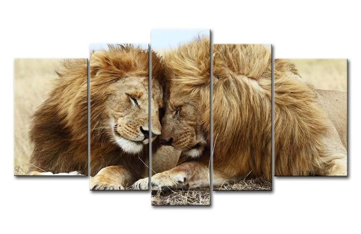 les 25 meilleures id es de la cat gorie peinture de lion sur pinterest l 39 art de lion dessin. Black Bedroom Furniture Sets. Home Design Ideas