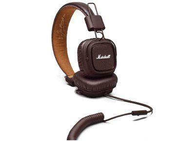 Ακουστικά Κεφαλής Marshall Major Καφέ