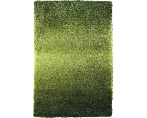 Vloerkleed hoogpolig Alinea groen 140 x 120 cm kopen bij HORNBACH
