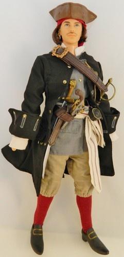 RARE Ken Barbie Doll Historical Pirate Fashion Set Clothes Shoes Hat | eBay