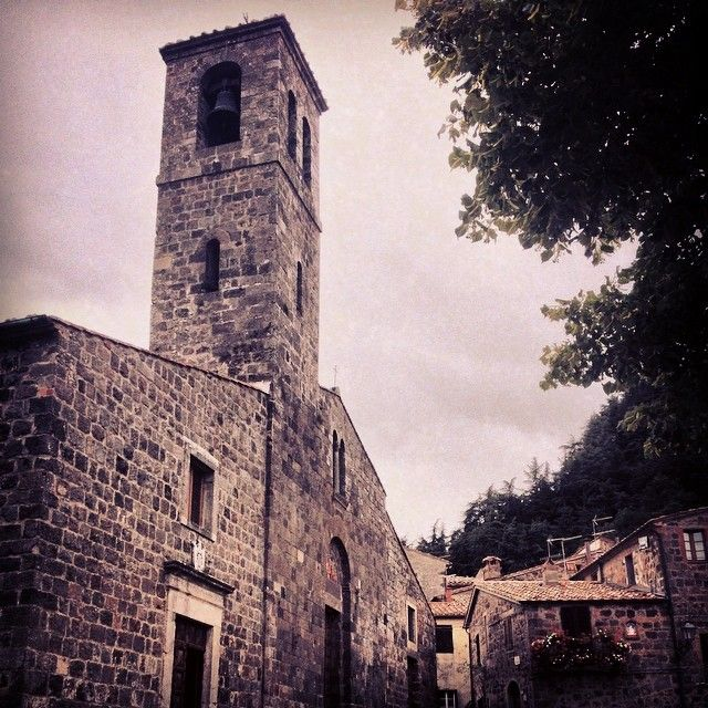 Chiesa di San Pietro Apostolo - Radicofani | #siena #valdorcia #toscana #italia #tuscany #italy