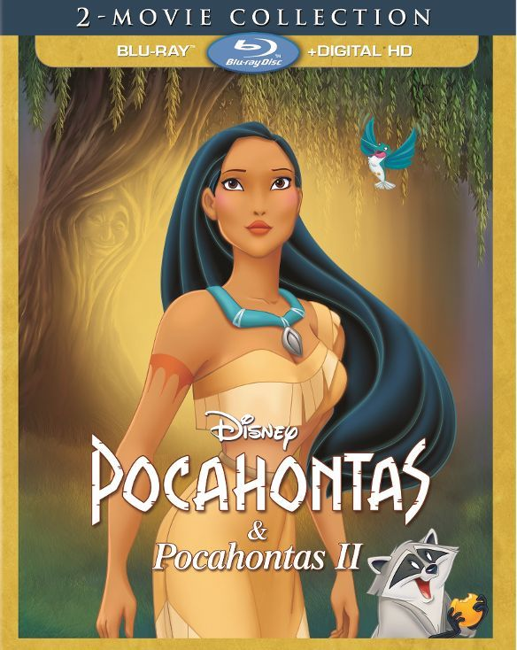 Pocahontas 2-Movie Collection [Blu-ray] (English/French/Spanish) 1995 - Larger Front