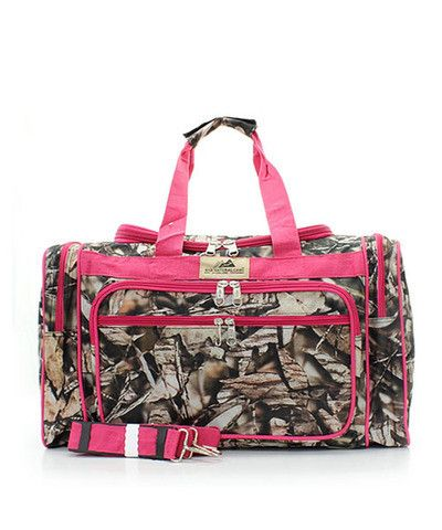 Natural Camo Duffel Bag – All Things Country