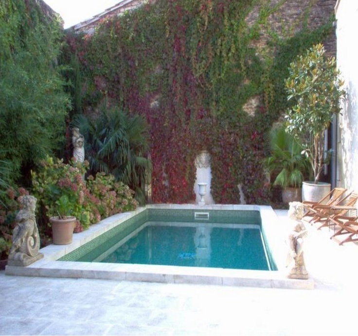 27 best images about courtyard pools on pinterest water for Garden pool facebook