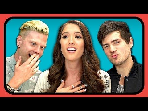 YOUTUBERS REACT TO FIRST KISS - YouTube