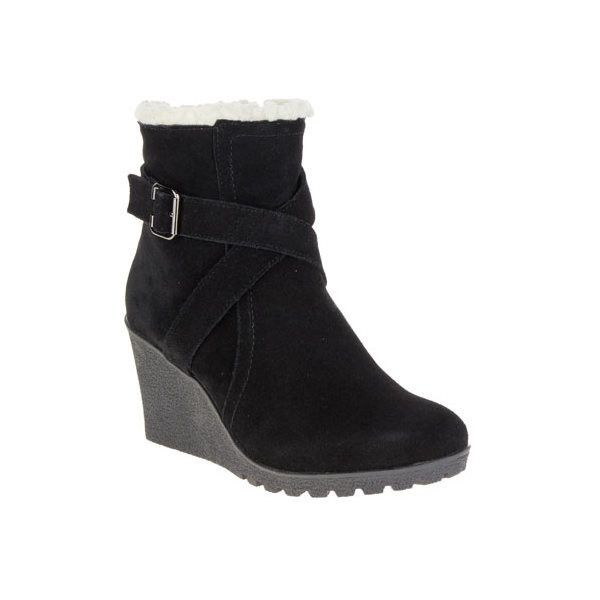 Women's Hush Puppies Amber Miles IIV Winter Boot (€94) ❤ liked on Polyvore featuring shoes, boots, black, casual, winter boots, waterproof winter boots, waterproof boots, black wedge shoes, hush puppies boots and black high heel boots