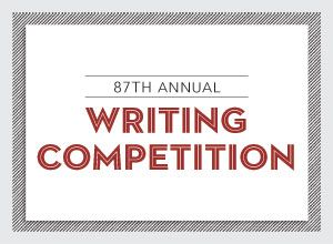ENTER NOW!  DEADLINE: 5/4/18 Writer's Digest's oldest and most popular competition, the Annual Writing Competition, is open for entries. Winners of the 87th Annual competition will be announced in our December 2018 issue.