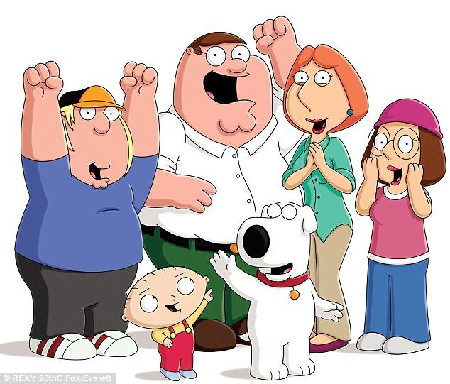 A giggle: Mila Kunis, who voices the part of Meg Griffin, will appear