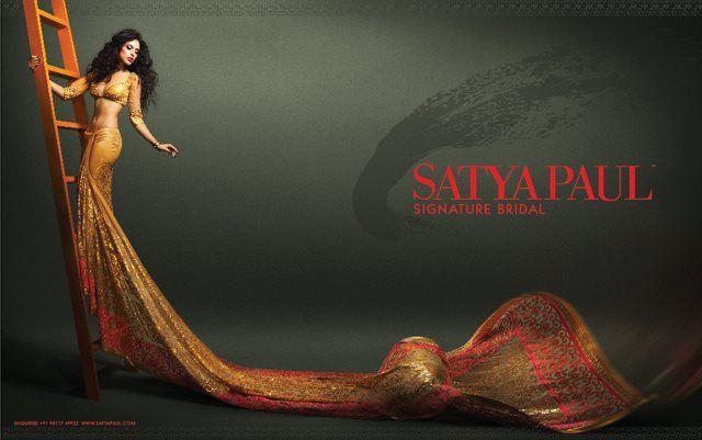 Satya Paul Campaign / Hair & make up Chandni Singh www.chandnisingh.com